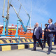 Artem Zdunov gets familiarized with problems of Makhachkala Sea Commercial Port