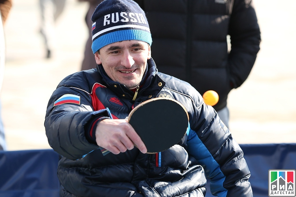 Rassul Nazirov wins international table tennis tournament for persons with spinal cord injury