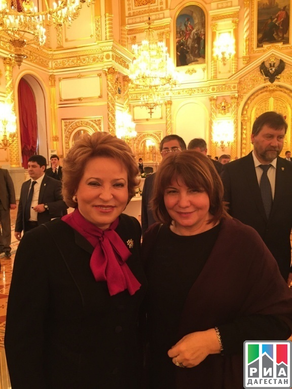 Marita Mugadova takes part in meeting of Presidential Council for Culture and Arts in the Kremlin