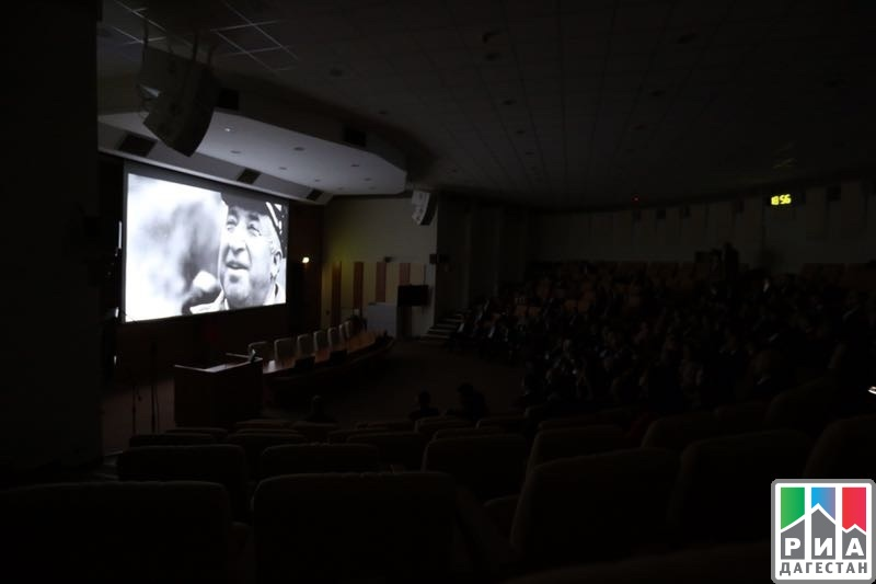"""Rasul Gamzatov. My Daghestan. Confession"" film presented to State Duma deputies"