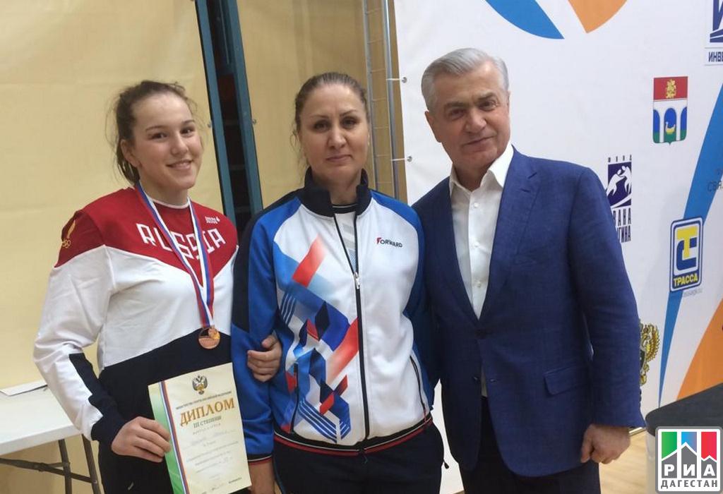 RIA «Daghestan» Dagestani Maryam Guseynova Wins All