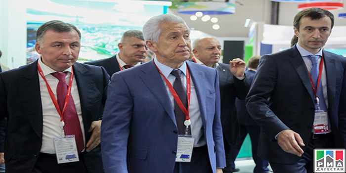 Dagestan delegation takes part in XXII Petersburg International Economic Forum