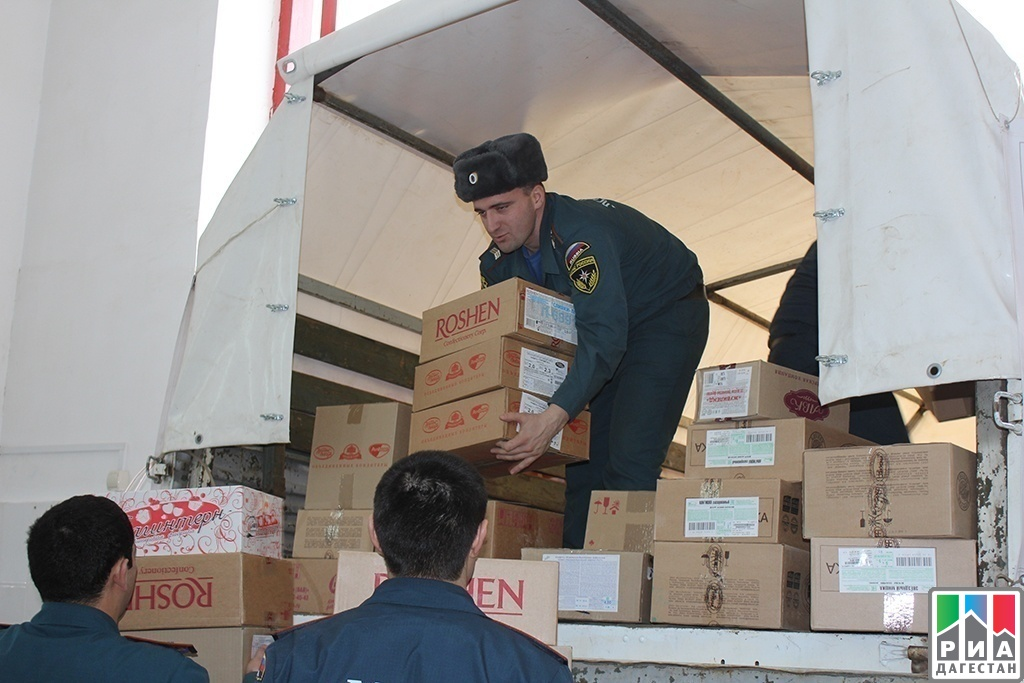 Dagestan sends humanitarian aid to Ukrainians