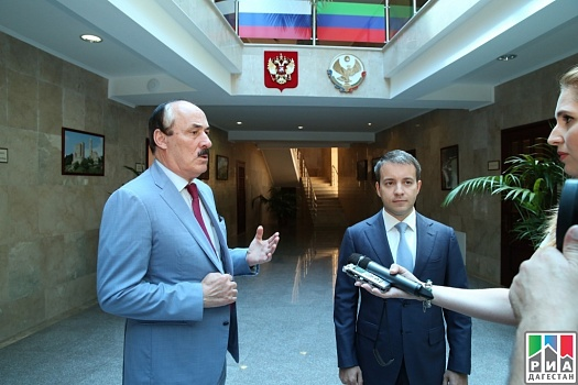 Russian Minister of Communications pays working visit to Dagestan