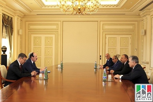 Dagestani Head meets with Minister of Economic Development of Azerbaijan